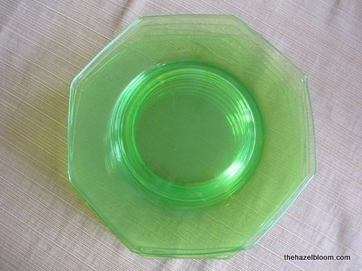 Vaseline glass plates