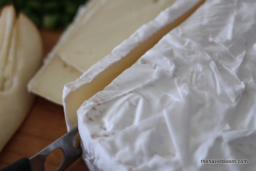 Slices of brie