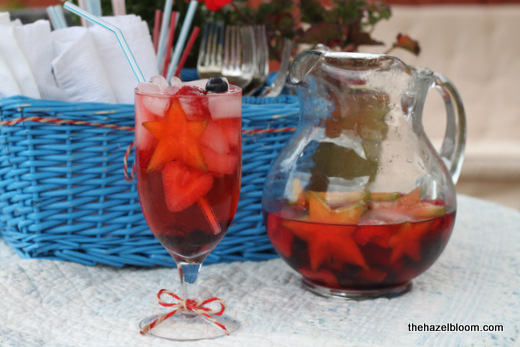 July of sangria